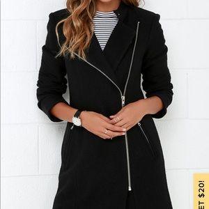 BB Dakota Grayson Boiled Wool Coat